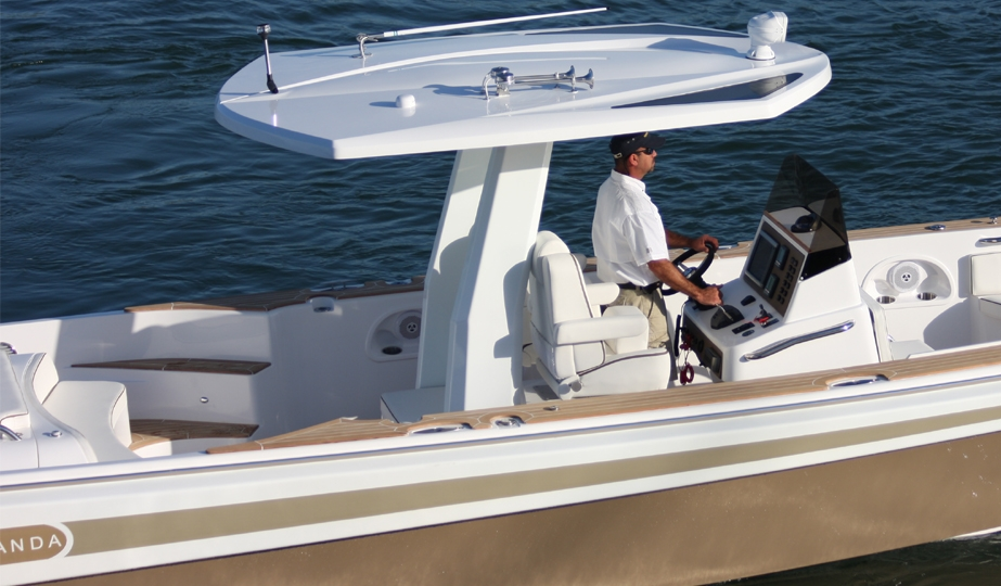 Novurania's luxurious Chase 38 yacht tender and sport boat is in a class of ...