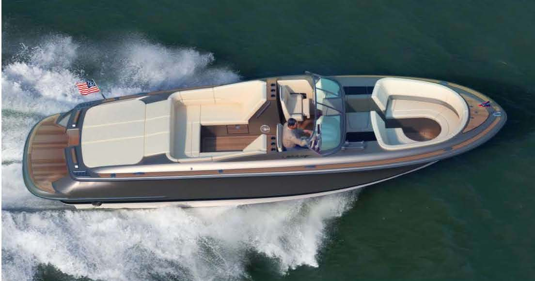 "Steve Heese, Chris-Craft President, said: ""The Launch 32 is the logical next ..."