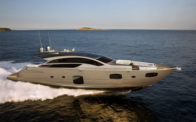 Pershing 82 Express. The express yacht will feature a total of 4 Staterooms ...