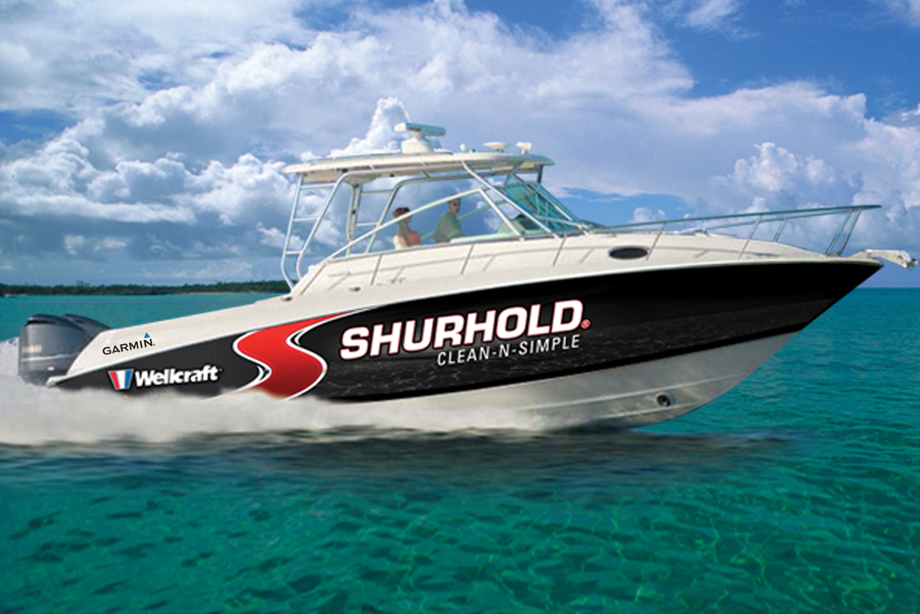 ... performed on Shurhold's new Wellcraft 340 Coastal called Clean-N-Simple.