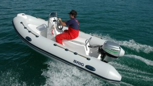 The 30-hp Aquawatt seems a good match for a tender/dinghy.