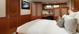 Comfort is guaranteed in the living accommodations.