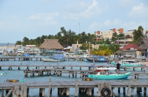 The cerveza is always frio for the fishermen and those visiting funky, laid-back Isla Mujeres.