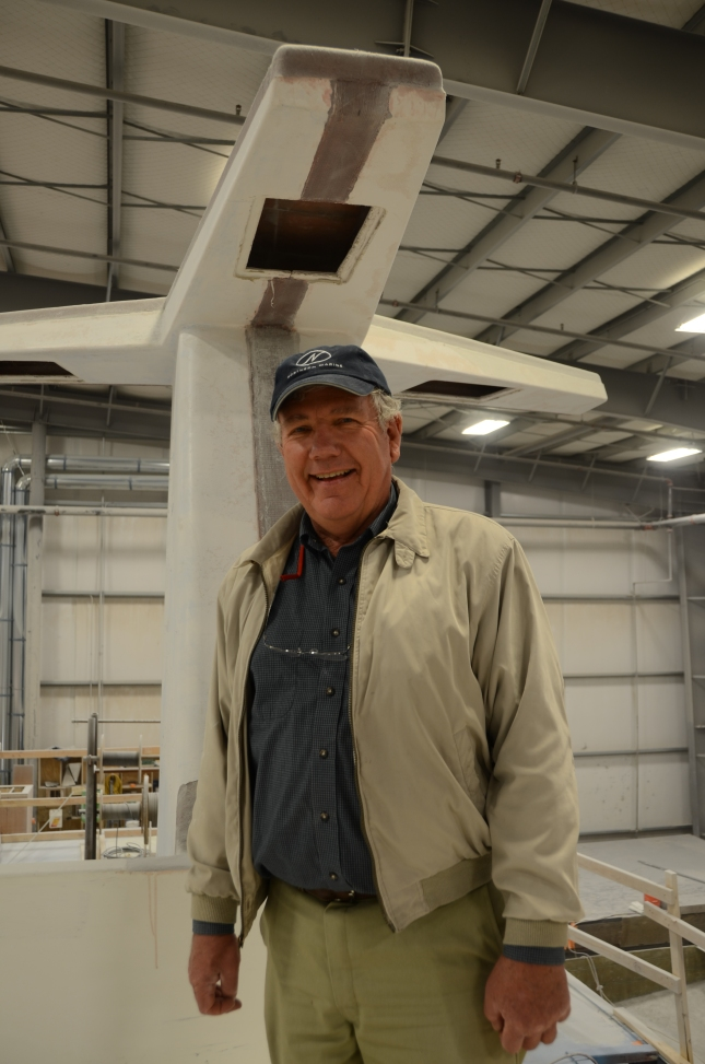 Long time boater Fred Kirsch knew he would get what he wanted when he approached Andy McDonald and the crew at Northern Marine.