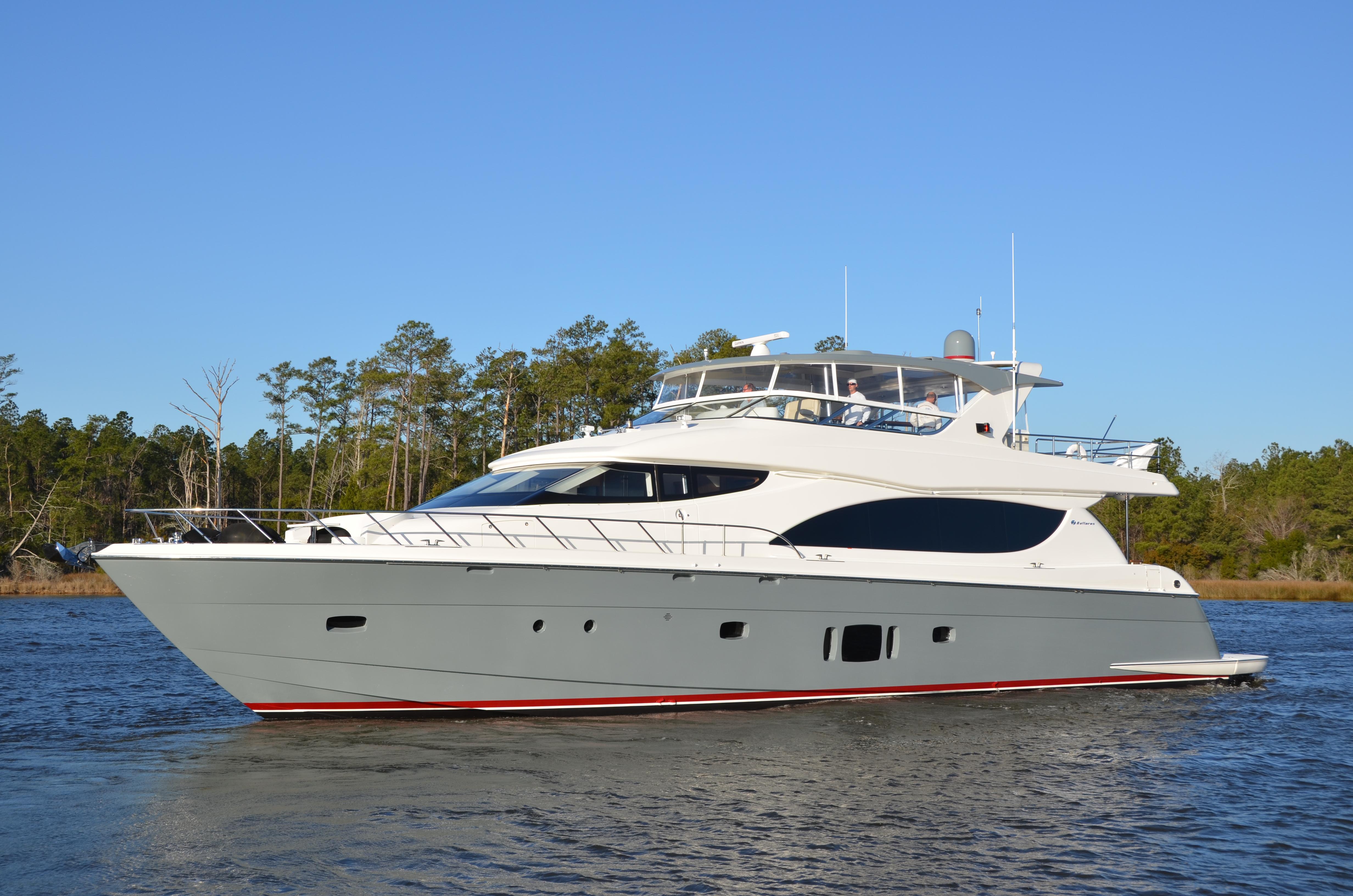 Hatteras 80 Foot Motoryacht Captain Ken Kreisler 39 S Boat
