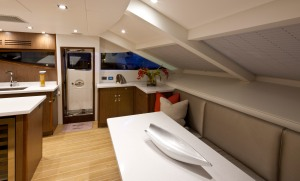 Hatteras 80MY Galley 2