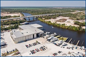 Located on 63 acres in Stuart, FL, the ACY facility is where C'est La Vie was designed, engineered, and built.