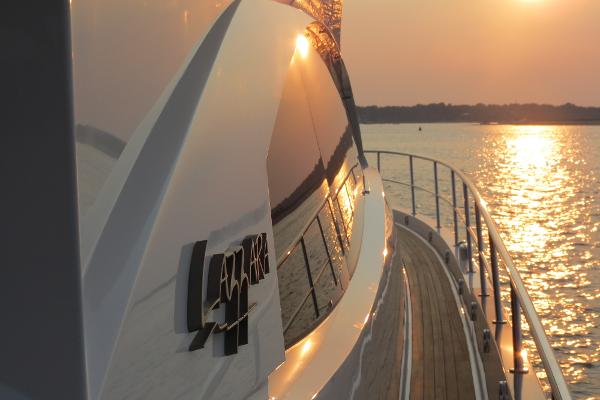 Constant attention to detail and in tune with its owner base has allowed  Lazzara Yachts to maintain a lofty position in the industry.