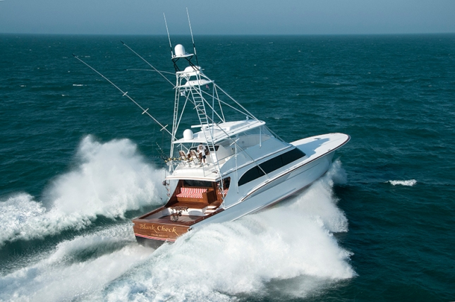 Carolina flare takes to the offshore waters in search of big fish and angling adventures in the form and shape of Jarrett Bay's 77-foot Blank Check.