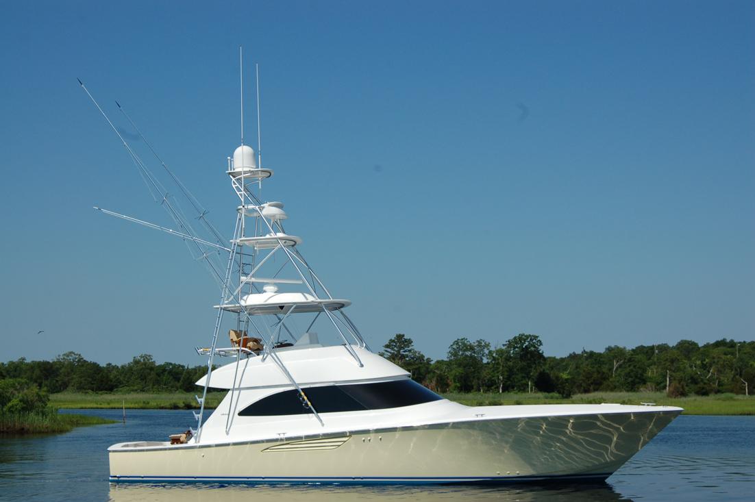 Viking yachts captain ken kreisler 39 s boat and yacht report for Viking sport fish
