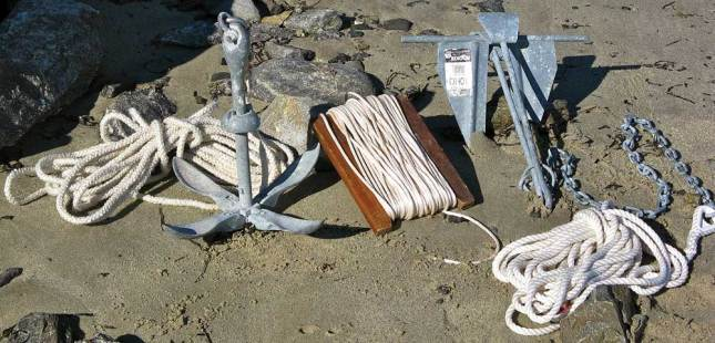 You never know when having two anchors aboard is just what you will need should more options for anchoring be necessary.