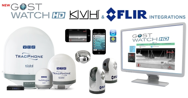 A winning trifecta to cover security concerns giants  available with the integration of GOST, KVH, and FLIR products.