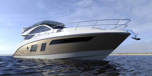 The 65 Fly sports a high-style exterior.
