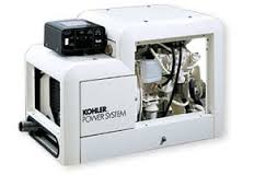 Marine gensets, such as this one by Kohler, can be safely controlled by an AGS system.