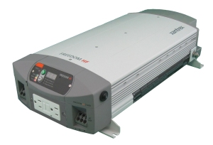 A Xantrex Freedom HF inverter/charger is a combination of an inverter, battery charger and transfer switch into one complete system.