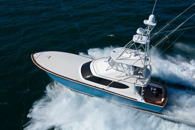 No matter how big your boat is, always know the proper water flow of  your exhaust system and if any restriction is suspected, shut down and have it checked out immediately.