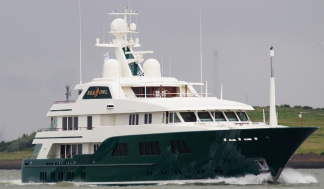 The uber beautiful Sea Owl, yet another Feadship masterpiece.