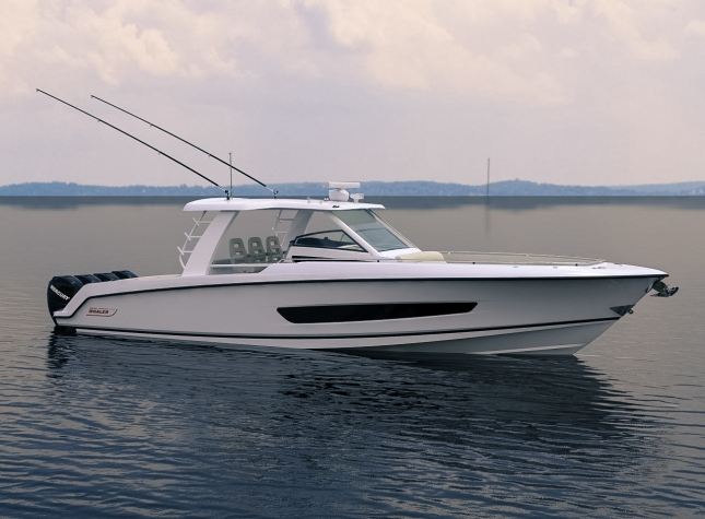 With its Boston Whaler heritage, the 420 Outrage is sure to a favorite with both offshore fishing enthusiasts as well as recreational, family boaters.