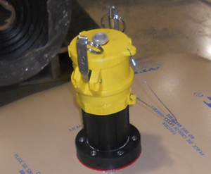 Options such as this stand pipe and safety cap with pressure relief valve & anti back-flow valve are available.