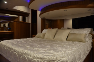 The full beam master offers comfort in luxurious surroundings.