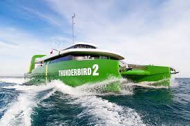 The ultimate toy for the ultimate toy, the Thunderbird2 by Brilliant Boats can either be a stand alone or a shadow vessel for a larger mega or superyacht.
