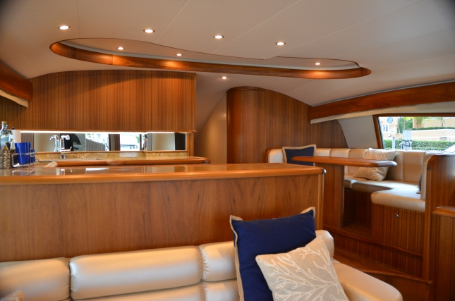 With its custom interior, this Spencer 59 was just what her owner was looking for.