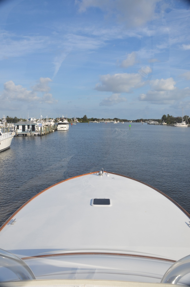 A view from the bridge, Spencer Yachts style.