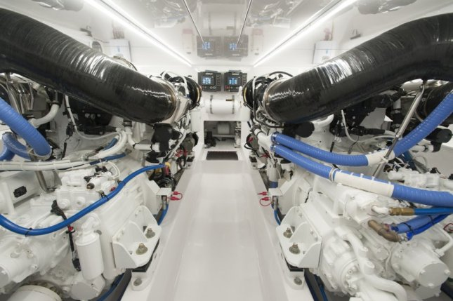 This is an engine room that is as good as it gets.